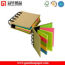 Promotional Spiral Paper Memo Pad Set