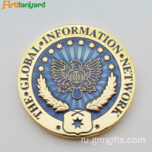 Customized Metal Coins With Soft Enamel