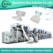 China Full-Servo Adulto Pad Produção Máquina com CE (CNK300-SV)
