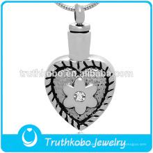 Significativo collar de urnas de cremación, colgante conmemorativo del collar del recuerdo