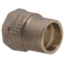 Solder Ring Gunmetal Bronze Female Adapter Fittings