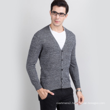 2017 hot selling cashmere woollen knit pure pashmina sweater for men