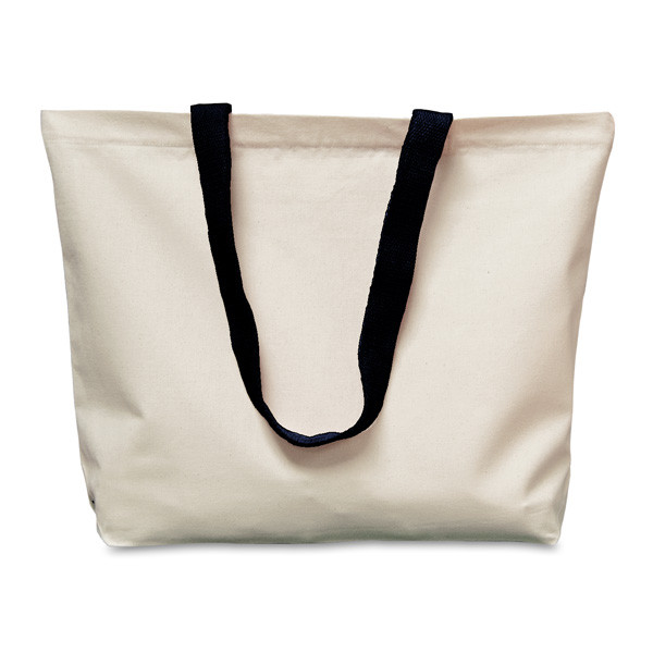 single shouder canvas bag with logo