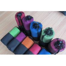 Serviette en microfibre avec tricotage chaîne