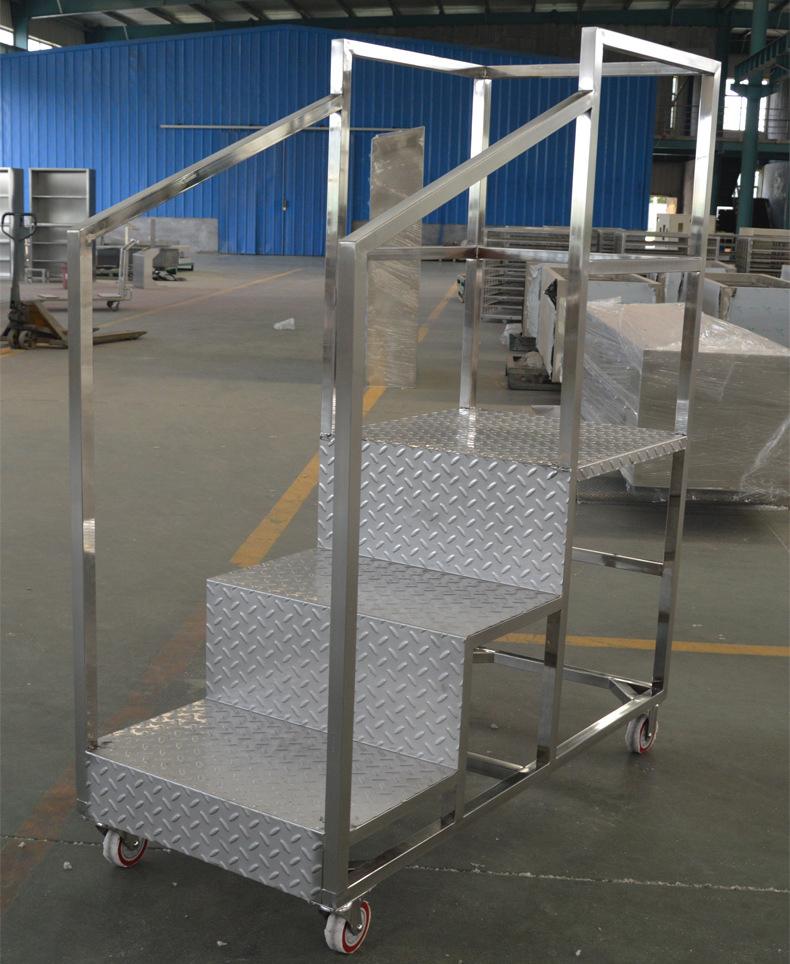 Multi step ladder