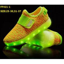 Chaussures de sport de chargement initial d'USB d'enfants d'OEM (FF421-1)