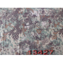 Boa Constrictor Style Printed Camouflage Fabric
