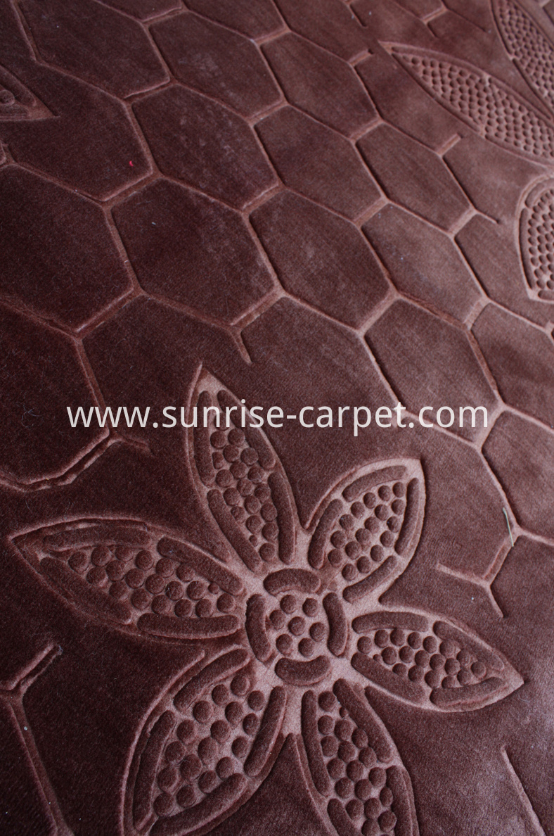 Polyester Embossing Carpet