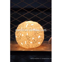Décoration moderne de table de chambre de lumière de ménage