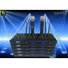 K-820 Wireless Microphone Systems, Double Microphone