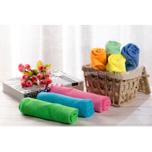 Warp Knitting Ordinary Towels de microfibra