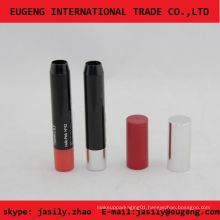 New shining slim plastic lipstick tube