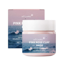 Australian Pink Clay Mask Purifying OEM Pure Rose Powder Organic Cleansing Face Pink Clay Mask Moisturize Mask