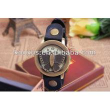 Relojes de cuarzo de alta calidad, relojes de papeles, correa de reloj de cuero