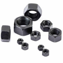 Black Hex Nuts DIN 934 China bolt and nut manufacturer