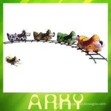 Children's Amusement Park Trains