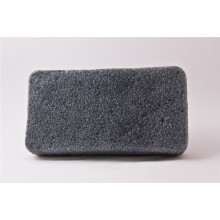 Forma oblonga negro mojado Konjac esponja