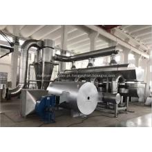 Máquina de secagem de leito fluidizado por vibração