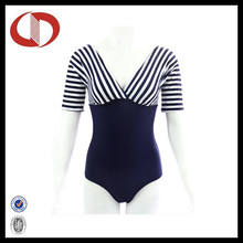 Sexy Deep V Neck High Waisted Swimsuit for Women