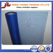 Maille de renforcement de mur en fibre de verre pour matériau de construction