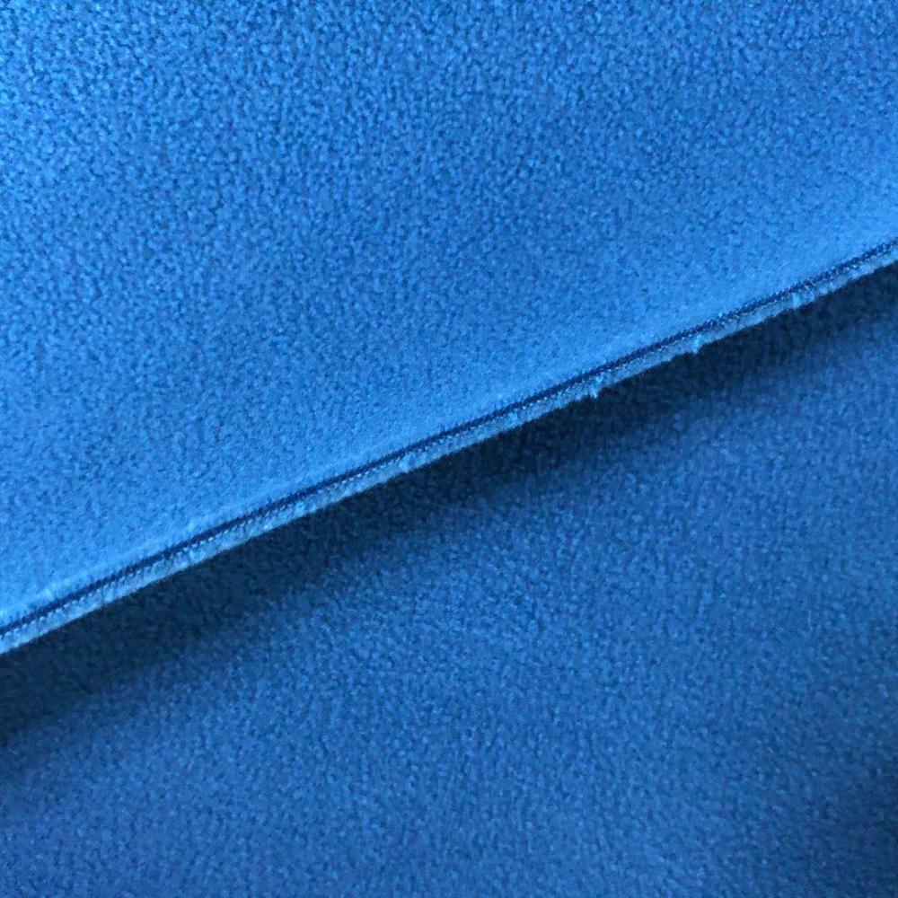 plain dyed solid polar fleece fabric