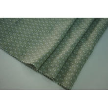 Tissu imprimé Tencel plissé naturel de polyester flammé de rayonne