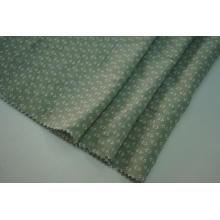 Tecido estampado Tencel com vinco natural Rayon poliéster slub