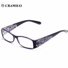 Barato última flor de impresión moda mujeres gafas