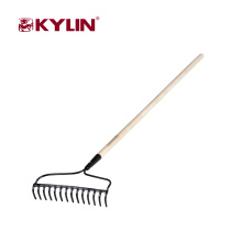 Cheap Different Types Garden Tool 14 Teeth Garden Rake