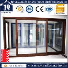 Двойные стеклопакеты Алюминиевые раздвижные двери (SL-7790)