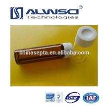 Fabricación 40ML EPA VOA Frasco con tapa PP, Vidrio borosilicato