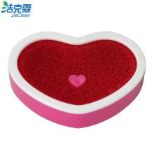 Boîte à savon éponge en forme de coeur