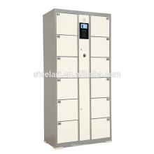 Salle de gym coffre-fort utilisation serrure à empreinte digitale casier électronique