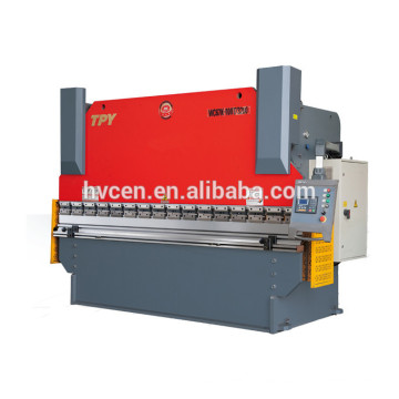 WE67K electro-hydraulic servo CNC bending machine
