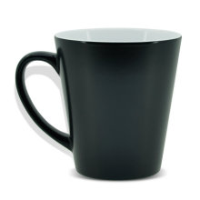 Ceramic 12 oz conical sublimation temperature changing mugs