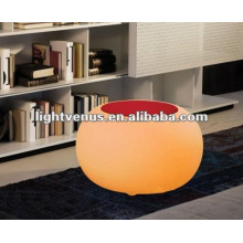 Nouvelle table à bulles à LED chaude