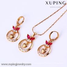 61463-Xuping Pefect Jewelry Set Moving Brass Jewelry Charm