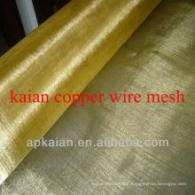Tissu en maille de cuivre de 0,25 mm * 30mesh
