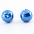 Environmental plastic loose bead could customize straight hole large wholesale all kinds of round abs pearl beads