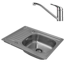 Kitchen Square Single Bowl Sinks Stanzform