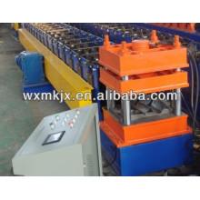 Corrugado barandilla que forma la máquina