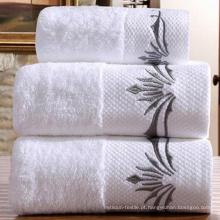 Toalha de banho de borda 100% algodão (DPH7017)
