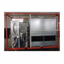 Torre de refrigeración cerrada de flujo de contador de diseño integrado