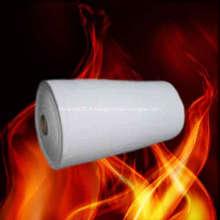 Couverture d'aérogel en laine de fibre de céramique pour l'isolation thermique