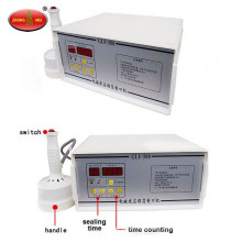 Heat induction plastic bottle cap aluminum foil sealing machine