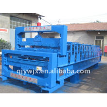 new design double layer roof roll forming machine