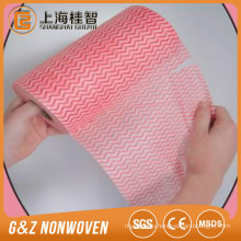 wave spunlace nonwoven clean wipe/clean cloth/clean rags