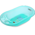 Plastic Transparent Baby Bathtub Medium Size