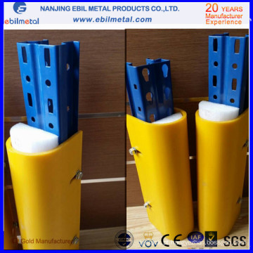 Coluna de plástico / proteção vertical / protetor para sistema de armazenamento
