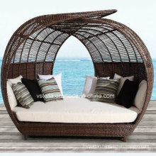 Outdoor Patio Garden Rattan Wicker Sun Lounger